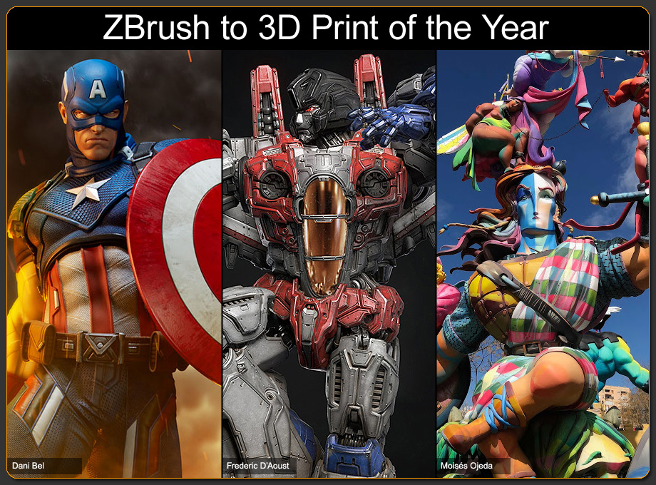ZBrush-to-3D-Print-of-the-Year-2018