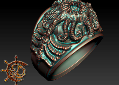 Al Azif inspired ring by Erika D