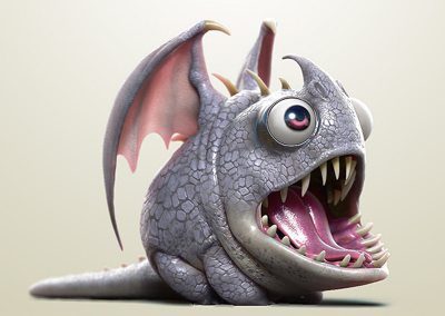 How To Train Your Dragon – The Hidden World  Hobgobbler Dragon by Charles Ellison