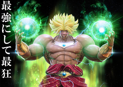DRAGON BALL BROLY by 林 祐希