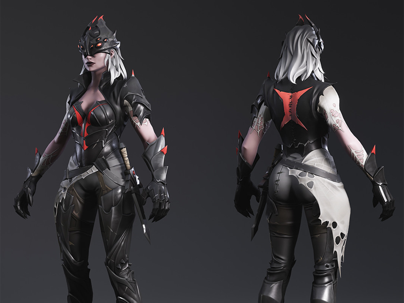 Fortnite – Arachne (skin) by KEOS MASONS